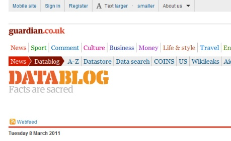 guardian datablog