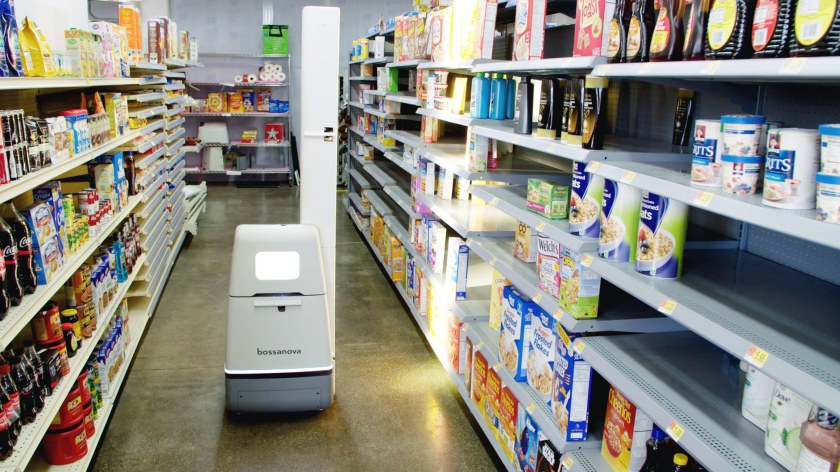 Walmart Bossanova Robot